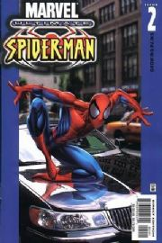 Ultimate Spider-man #2 Car Cover Direct Edition (2000) Marvel comic book